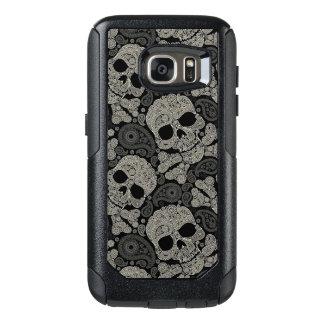 Sugar Skull Pattern Samsung Galaxy S7 Case