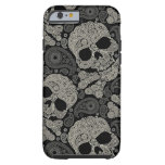 Sugar Skull Pattern Tough iPhone 6 Case