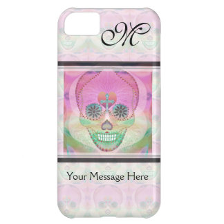 Sugar Skull Rainbow Heart Tree of Life Day of Dead iPhone 5C Case