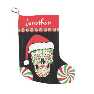 sugar skull santa customizable