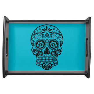 Sugar Skull Serving Tray