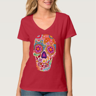 Sugar Skull Shirt - Day of the Dead T-Shirt