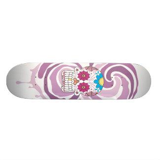 Sugar Skull Skate Deck