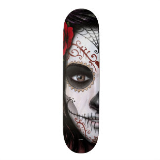 Sugar Skull Skateboard Deck