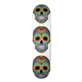 Sugar Skull Skateboard Design | Day of the Dead