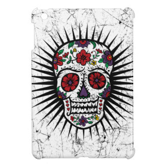 Sugar Skull Star iPad mini case