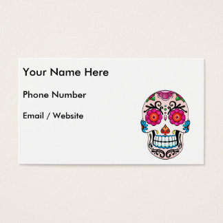 Sugar Skull - Tattoo Art Business Card