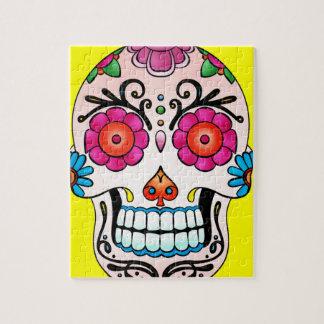 Sugar Skull - Tattoo Art Jigsaw Puzzle