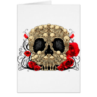 Sugar Skull - Tattoo Design Card