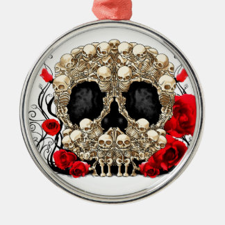 Sugar Skull - Tattoo Design Christmas Ornament
