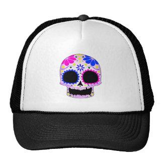 Sugar Skull - Tattoo Design Hats