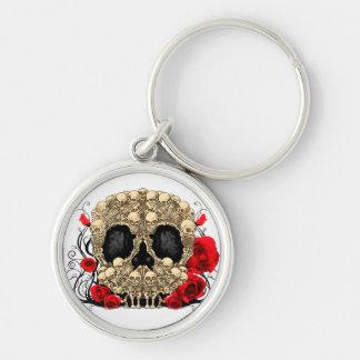 Sugar Skull - Tattoo Design Keychains