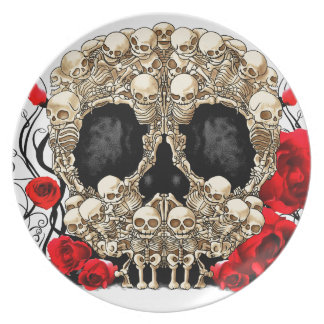 Sugar Skull - Tattoo Design Plate