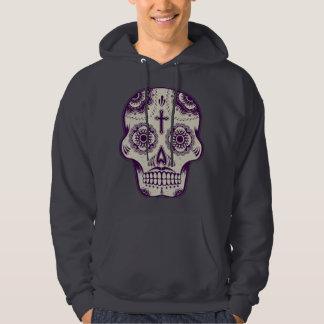 Sugar skull tattoo hoodie