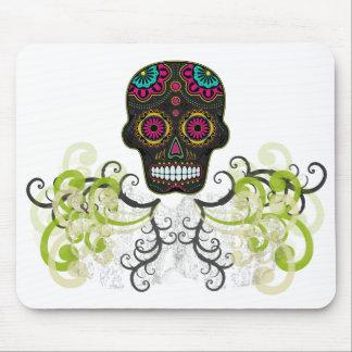 Sugar Skull Tattoo Mouse Pad