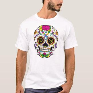 Sugar Skull Tattoo Style Men's Basic T-Shirt