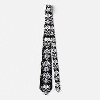 Sugar Skull Tie