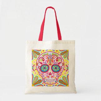Sugar Skull Tote Bag - Day of the Dead Art