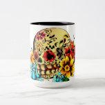 Sugar Skull Two-Tone Mug