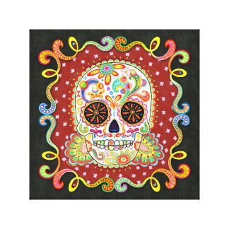 Sugar Skull Wall Art