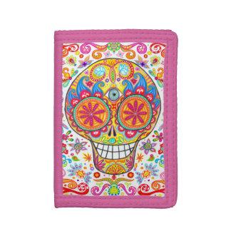 Sugar Skull Wallet - Day of the Dead!