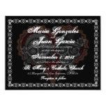 Sugar Skull Wedding Invitations 2