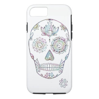 Sugar Skull with Candy Paint iPhone 8/7 Case