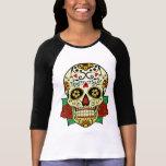 Sugar Skull with Roses