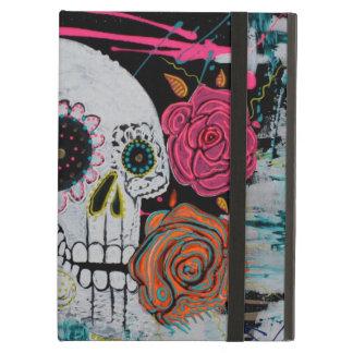 Sugar Skull with Roses Powis Case iPad Air Case