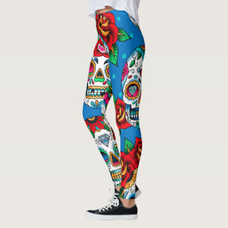 Sugar Skulls 101 Leggings