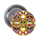 Sugar Skulls Button