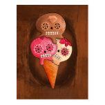 Sugar Skulls Ice Cream Postcard