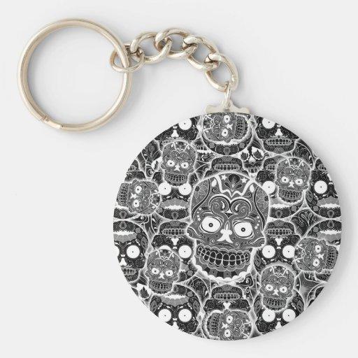 Sugar Skulls Key Chains