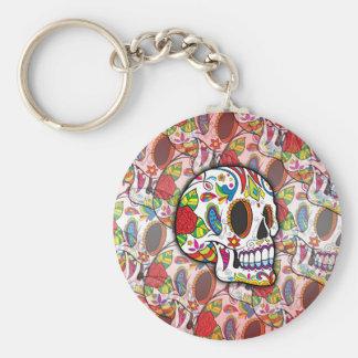 Sugar Skulls Keychain