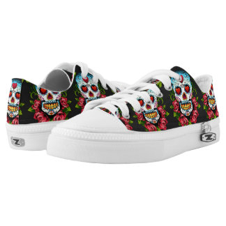 Sugar Skulls Low Tops