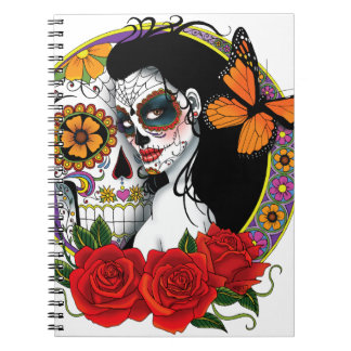 Sugar Skulls Notebook