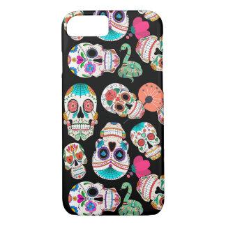 Sugar Skulls Pattern iPhone 8/7 Case