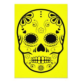 sugar skullz : 1 13 cm x 18 cm invitation card