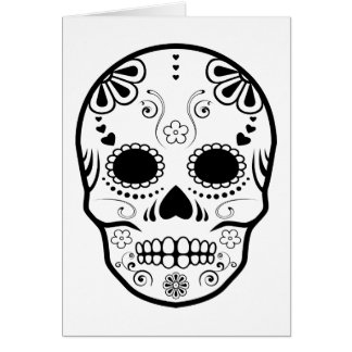 sugar skullz : 1 card
