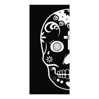 sugar skullz : 2 custom rack cards