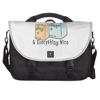 Sugar Spice and everything nice Laptop Commuter Bag