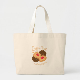 Sugar Spice And Everything Night Tote Bags
