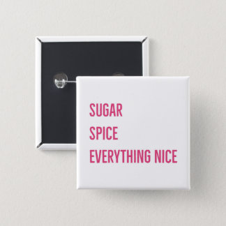 SUGAR & SPICE BUTTON (pink)