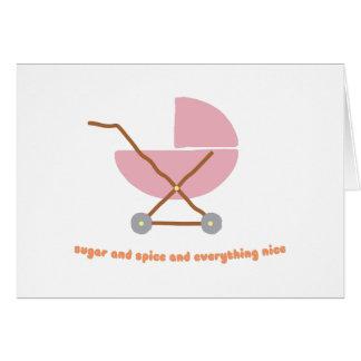 Sugar & Spice Card