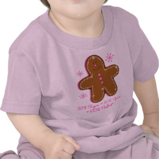 Sugar & Spice Gingerbread Infant T-shirt