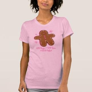 Sugar & Spice Gingerbread Ladies Twofer Tee