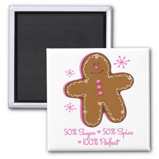 Sugar & Spice Gingerbread Magnet