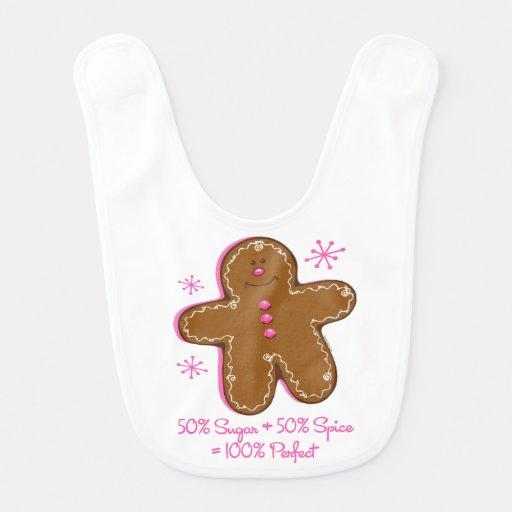 Sugar & Spice Gingerbread Bibs