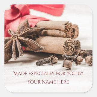 Sugar & Spice Homemade Gift Label