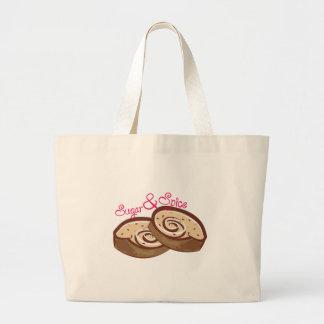 Sugar & Spice Jumbo Tote Bag